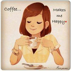 Coffee makes us happy
