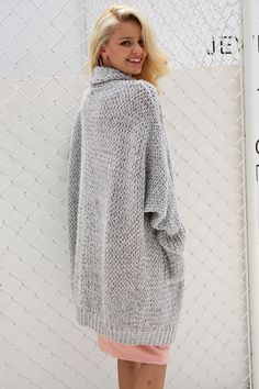 32f75746c21aec Simplee Casual knitting long cardigan female Loose kimono cardigan knitted  jumper 2017 warm winter sweater women cardigan