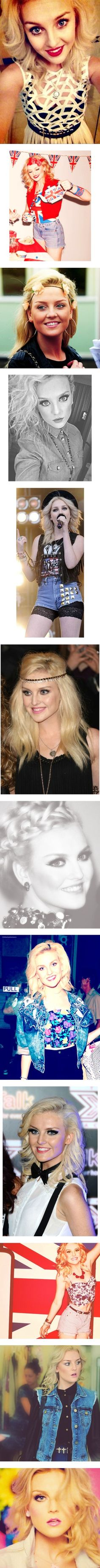 No hate Perrie Louise Edwards is beautiful no doubt about it just accept her as she is gorgeous and beautiful!