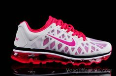Nike Air Max 2011 Running Shoes White Pink... WANT! Nike Air Max 2011, Nike Air Max For Women, Nike Women, Neon Running Shoes, Nike Free Shoes, Nike Running, Nike Outfits, Nike Kicks, Adidas Shoes Outlet