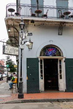 Head on over to the Old Absinthe House in New Orleans to try their Absinthe Frappe.