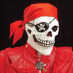This pirate skull mask is a pure awesomeness!! Found this from finnish costume shop named Punanaamio(Redmask=straight english translation). It's only 18.90€. Imma order it!! No worldwide shipping, Only inside Finland.