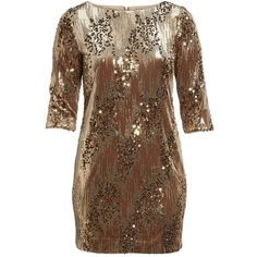 Plus Size Women's Eliza J Sequin Sheath Dress ($148) ❤ liked on Polyvore featuring plus size women's fashion, plus size clothing, plus size dresses, plus size, tan, cocktail dresses, womens plus size cocktail dresses, brown cocktail dress, plus size evening dresses and tan cocktail dress
