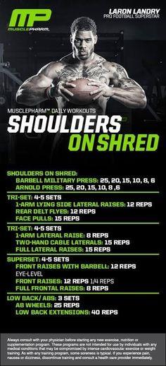 Shoulders on shred