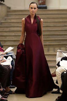 Ralph Rucci Chado Fall 2002 Couture Fashion Show - Ralph Rucci, Natalia Semanova