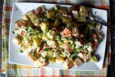 Bacon Potato Salad - for my first attempt at potato salad (in years) this was pretty easy...