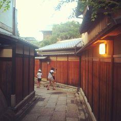 石塀小路 in 京都府
