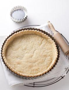'n Maklike een: Basic recipe: Shortcrust pastry Best Pastry Recipe, Pastry Recipes, Cooking Recipes, Cheesecake Recipes, Dessert Recipes, South African Desserts, Yummy Things To Bake, Baking Basics, Shortcrust Pastry