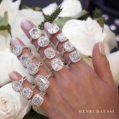 Why choose just one? #engagementring #jewelrydesigner #diamonds #summer2017 #whiteroses #roses #flowers #love