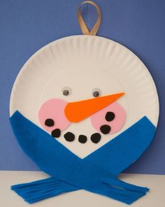 Activities: Paper Plate Snowman