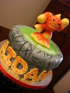 Skylanders Eruptor Birthday Cake