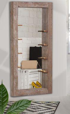 Spiegel Mit Kerzenhalter In Recycled Altholz Massiv Woody 115-00541 Braun Modern Jetzt bestellen unter: https://moebel.ladendirekt.de/dekoration/kerzen-und-kerzenstaender/kerzenstaender/?uid=92e3cc0d-3fa0-5bbb-bbe9-3e82a4f4fc47&utm_source=pinterest&utm_medium=pin&utm_campaign=boards #kerzen #kerzenstaender #dekoration