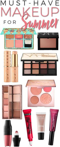 Must-Have Makeup for Summer