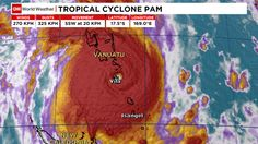 Tropical Cyclone Pam, March 2015