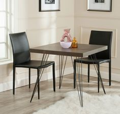Find Safavieh Home Collection Wolcott Mid-Century Modern Dark Brown Black Accent Table online. Shop the latest collection of Safavieh Home Collection Wolcott Mid-Century Modern Dark Brown Black Accent Table from the popular stores - all in one Black Accent Table, White Table Top, Table For 12, Skandinavisch Modern, Contemporary, Brown Wood, Dark Brown, Black Wood, Wood End Tables