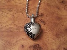 Urn Pendant Cremation pendant Memorial Pendant Pet by K9StampArt