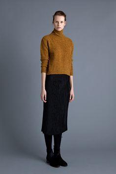 Loni Polo, Pilar Skirt and Chelsea Boot | Samuji FW15 Seasonal Collection