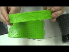 cuttlebug all in one embossing folder tutorial from Scrapbooking Made Simple