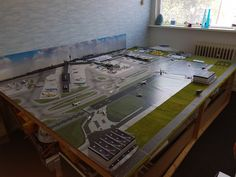 Paper Airplane Models, Model Airplanes, Lego City Airport, City Block, Airports, Amsterdam, Aviation, Kids Room, Scale