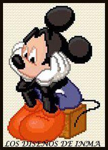 PDF Gráfico Punto de Cruz Disney 6 Disney Punto de por NoahsDreams