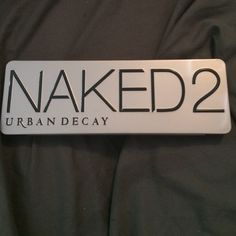 Naked 2 Naked 2 palette by urban decay Urban Decay Makeup Eyeshadow