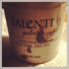 Yum!  Talenti Southern Butter Pecan Gelato!  Delicious!  #talentigelato.