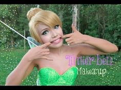 Tutorial on Tinker Bell Haloween Makeup by Island Girl. Check out more Makeup on Bellashoot. Halloween 2013, Holidays Halloween, Happy Halloween, Halloween Party, Disney Halloween, Halloween Ideas, Peter Pan Costumes, Up Costumes, Halloween Costumes