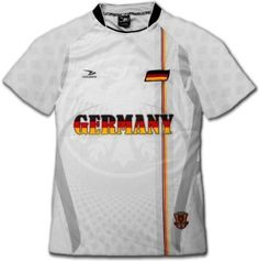 2010 SOUTH AFRICA world cup GERMANY flag pro soccer jersey size large.  Soccer Video GamesSports ... 28d6a001d