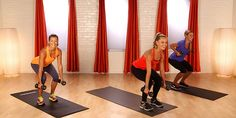 Mix cardio bursts with strength training to amp up the calorie burn. This 10-minute workout from Hayden Panettiere's trainer, Heather Dorak of Pilates Platinum, will work you from head to toe, and all you need is set of five-pound weights. Grab your