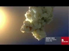 """http://www.picturefront.de """"smokewax test"""" - done with 3dsmax, fume, krakatoa, realflow and vray"""