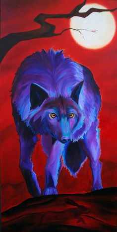 "corina st martin | ... "" - Original Wolf PRINT 11 x 14 - By Corina St. Martin on Etsy"