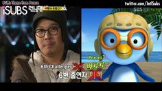 Haroro my fav member of the Running man team and Pororo his cartoon clone! <3