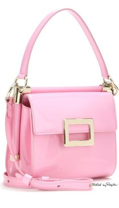 Roger Vivier ~ Spring Pink Handbag, 2015