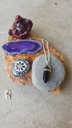 Hey, I found this really awesome Etsy listing at https://www.etsy.com/listing/453596070/black-onyx-healing-stone-pendant-chakra