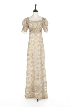 Dress ca. 1805-10 From Kerry Taylor Auctions