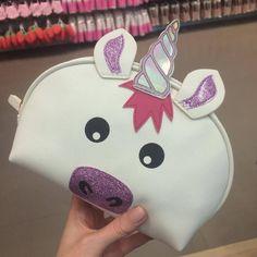 UNICORN Make Up Toiletry Cosmetics Bag Primark ***** More Info: http://qoo.by/2wsq