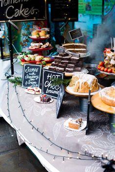 Chocolate Truffles, three ways - - Market Stall Display, Cafe Display, Farmers Market Display, Bakery Display, Market Stalls, Bake Sale Displays, Cake Stall, Bakery Interior, Food Stall