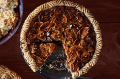 Sure, pecan pie is great on it's own, but the addition of coconut and chocolate adds layers of delicious flavor. Recipe: Chocolate-Coconut-Pecan Pie   - CountryLiving.com