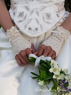 There's something special about lace gloves that evoke a feeling of elegance, every time they are worn. These delicate fingerless gloves will take you back to a by-gone era of romance and beauty, and a time when bridal accessories were heirloom pieces, meant to be cherished, and passed on for generations. It is my goal to …