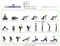 5 downloadable yoga pose sequences for all levels