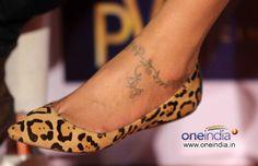 love Deepika Padukone´s ankle tattoo