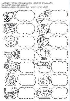 Letramania, cuadernillos de actividades para imprimir gratis : FICHAS PARA NIÑOS