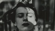 Saul Leiter : Ana, New York, 1950s / 'I didn't photograph people as an example of New York urban something or other. I don't have a philosophy. I have a camera. I look into the camera and take pictures. My photographs are the tiniest part of what I see that could be photographed. They are fragments of endless possibilities' - Saul Leiter