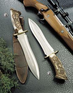 Muela knives, hunting knive, Podenquero gj-gv, Blade´s length of 260 mm