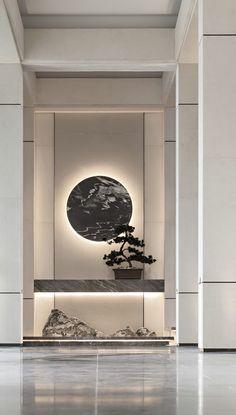 The Best 2019 Interior Design Trends - Interior Design Ideas Asian Interior Design, Chinese Interior, Japanese Interior, Luxury Interior, Modern Interior, Interior And Exterior, Flur Design, Küchen Design, Wall Design