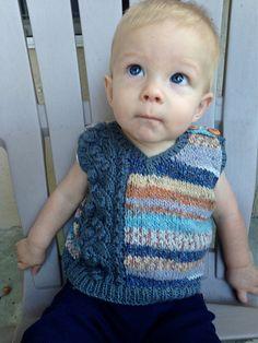 Ravelry: Beanstalk Vest pattern by Corley Groves