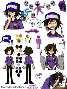 pole bear fnaf - Purple Guy