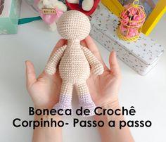 ^ Body Step by Step - Crochet Bonek Crochet Bear, Crochet Dolls, Free Crochet, Afghan Patterns, Crochet Stitches Patterns, Doll Toys, Baby Dolls, Globe Crafts, Amigurumi For Beginners