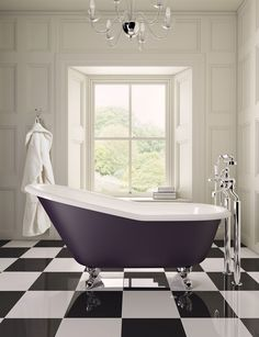 The Cambridge bath is a cast iron 'slipper bath', the perfect shape for languorous relaxation. Save 33% off this bath in our Autumn Event.
