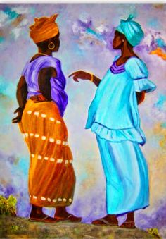 pinturas-de-negras-africanas-en-acrilico.jpg (716×1031)